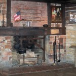 Replica of George Washington's Fireplace