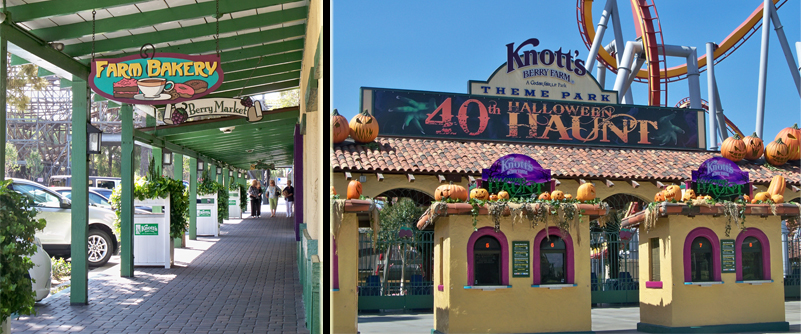 California Marketplace/Knott's Entrance
