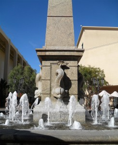 Fashion Island Fish Fountain
