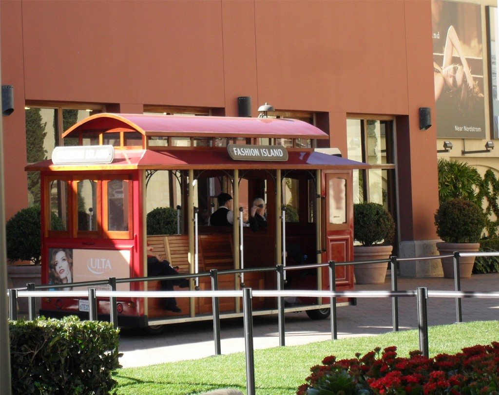Fashion Island Trolley