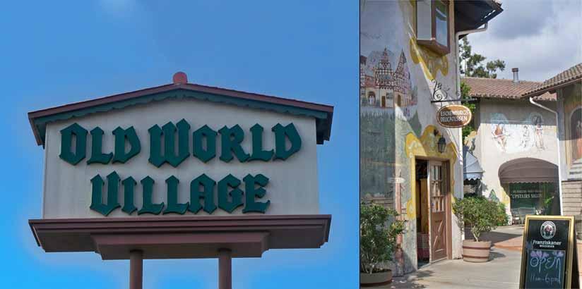 Old World Village Location 7561 Center Avenue Huntington Beach